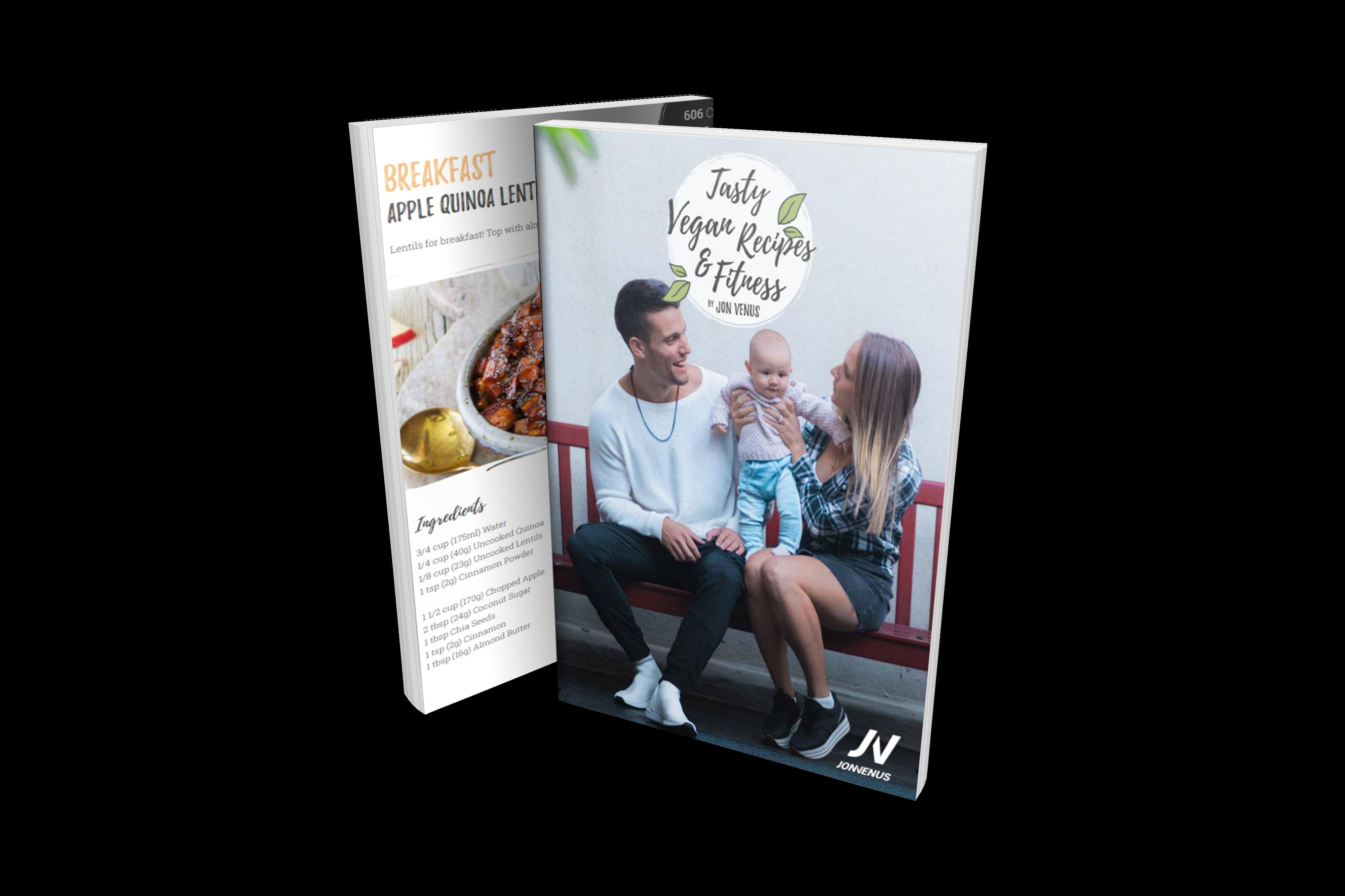 Tasty Vegan Meals Fitness Guide Jon Venus